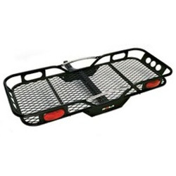Motorcycle carriers and cargo racks