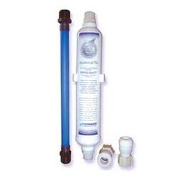 Interior water filter