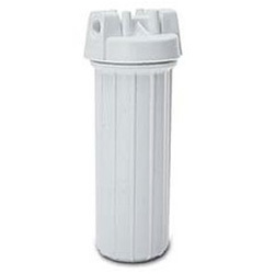 Exterior canister water filter